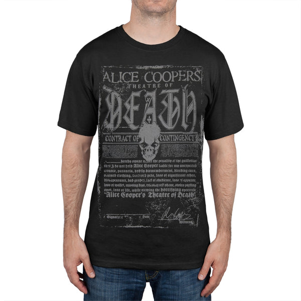 Alice Cooper - Theatre of Death Soft T-Shirt