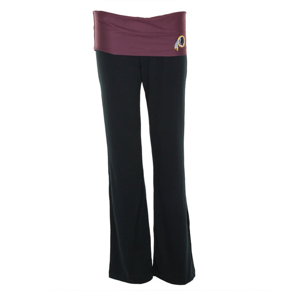 Washington Redskins - Flip Down Waistband Logo Juniors Yoga Pants