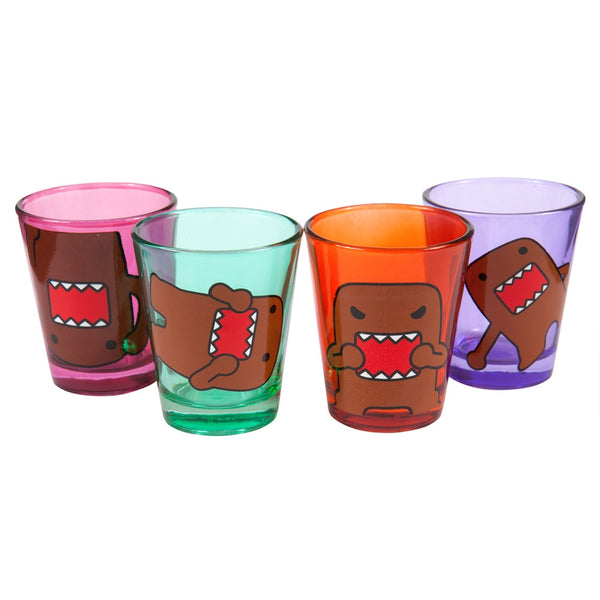 Domo - Expressions Shot Glasses 4 Pack Set