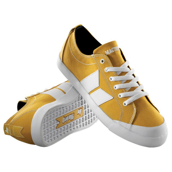 Macbeth - Eliot Ochre & White Shoes
