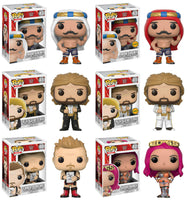 Set of 6 Funko WWE Pop! - 4 Regular Releases and 2 Chases