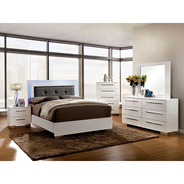 Furniture Of America Clementine 4 Piece Bedroom Set