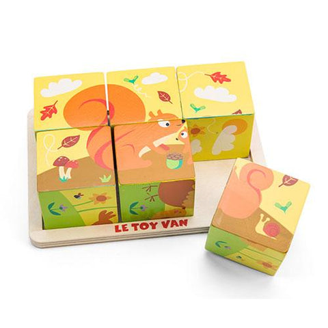All Seasons Cube Puzzle-Le Toy Van-Developmental toys for babies, infants and toddlers. Sustainably sourced, gender neutral, wooden baby toys.