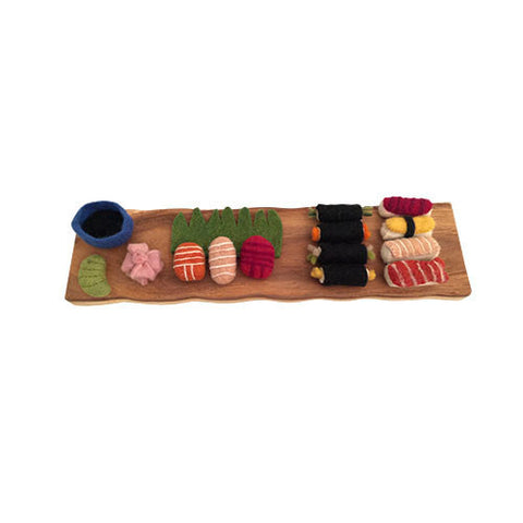 Bento Box Felt Play-Set-Papoose Toys-Developmental toys for babies, infants and toddlers. Sustainably sourced, gender neutral, wooden baby toys.