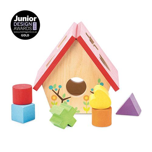 My Little Bird House Shape Sorter-Le Toy Van-Developmental toys for babies, infants and toddlers. Sustainably sourced, gender neutral, wooden baby toys.