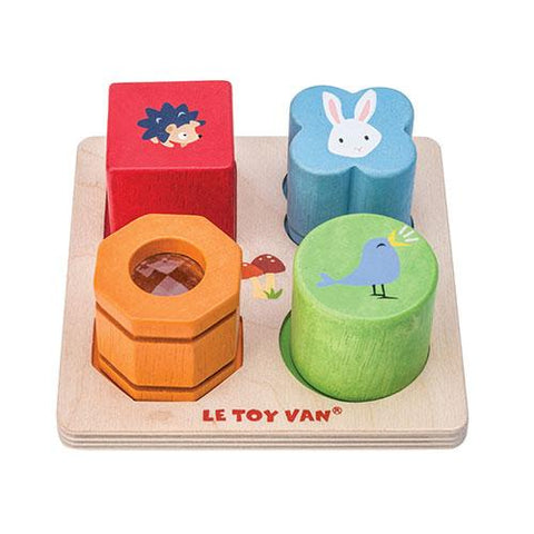 Petilou 4 Piece Sensory Tray Set-Le Toy Van-Developmental toys for babies, infants and toddlers. Sustainably sourced, gender neutral, wooden baby toys.