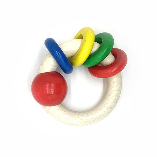 Ring Rattle-Hess-Developmental toys for babies, infants and toddlers. Sustainably sourced, gender neutral, wooden baby toys.