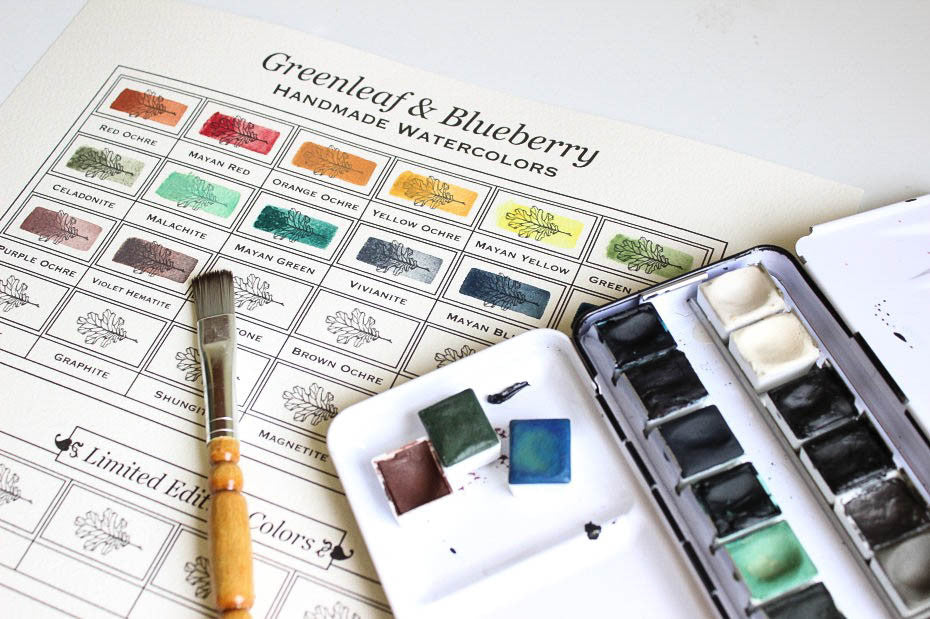 Color Chart (Blank), Paint-It-Yourself, DIGITAL DOWNLOAD