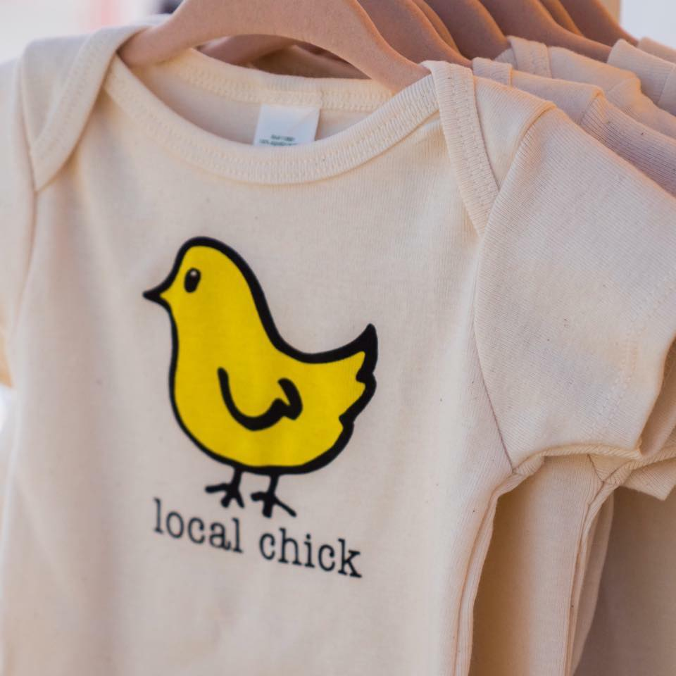 Local Chick Organic Baby Romper