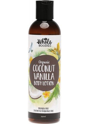 The Whole Boodies Coconut Vanilla Body Lotion (250ml)