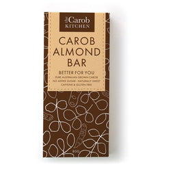 The Carob Kitchen Carob Almond Bar (80g)