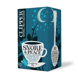 Clipper High End Herbal Snore & Peace Organic Tea (20 t-bags)