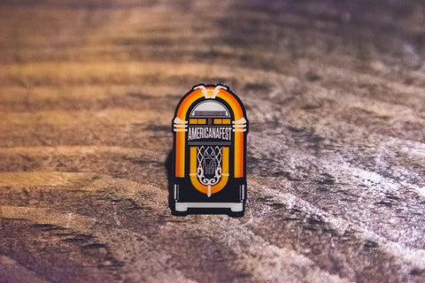 AMERICANAFEST® Jukebox Lapel Pin