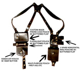 "TOM'S ""SPECIAL AGENT RIG"" - CUSTOM HAND-MADE DOUBLE THICK REINFORCED LEATHER SHOULDER RIG HOLSTER FOR FBI, SECRET SERVICE, LAW ENFORCEMENT. TAKE THE WEIGHT OFF OF YOUR BELT. CALL 954-804-4381 TO DESIGN THIS MASTERPIECE. CLICK HERE."