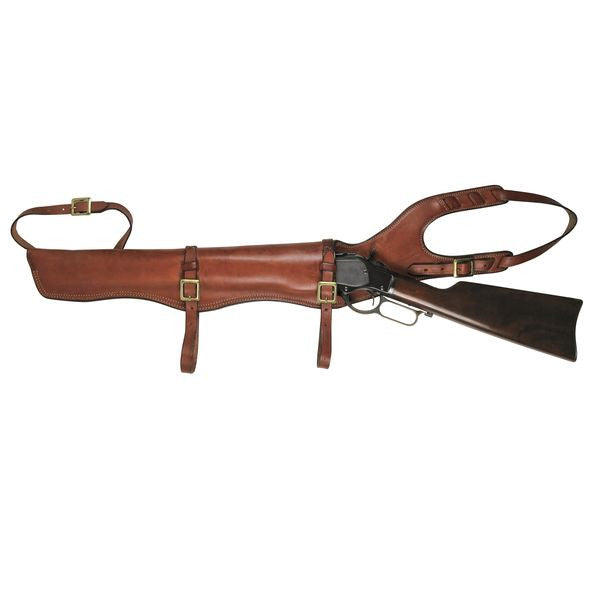 "TOM'S ""RIFLE HORSE SADDLE SCABBARD"" CALL 954-804-4381 TO MODIFY."