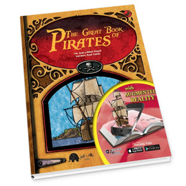 The Great Books of Pirates (Augmented reality)