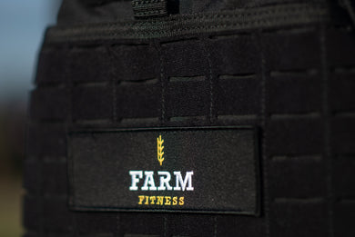 FARM FITNESS LARGE LOGO PATCH