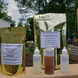 **Garden Care Kit** 4 oz Neem Oil, Peppermint Oil, Rosemary Oil and Calcium Nitrate
