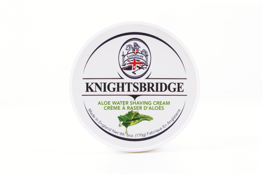 Knightsbridge Shaving Cream 170g - Aloe Water