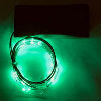 LED String Lights Jade Green