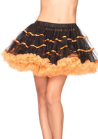 Satin Striped Tulle Petticoat