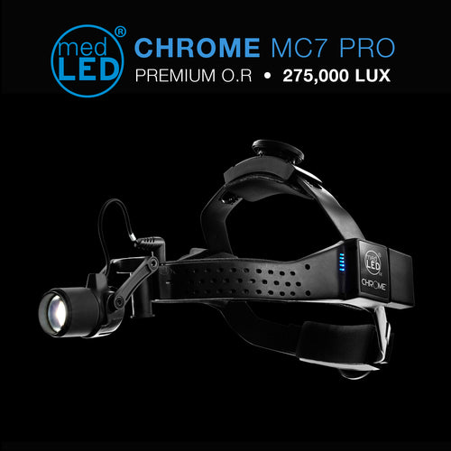 MedLED MC7 PRO Surgical Headlight