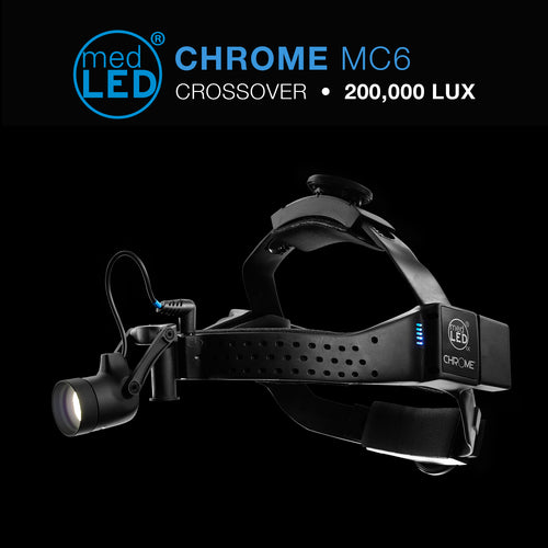 MC6 Crossover Surgical Headlight with 200,000 LUX
