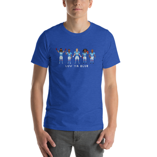 Luv Ya Blue Short-Sleeve Unisex T-Shirt