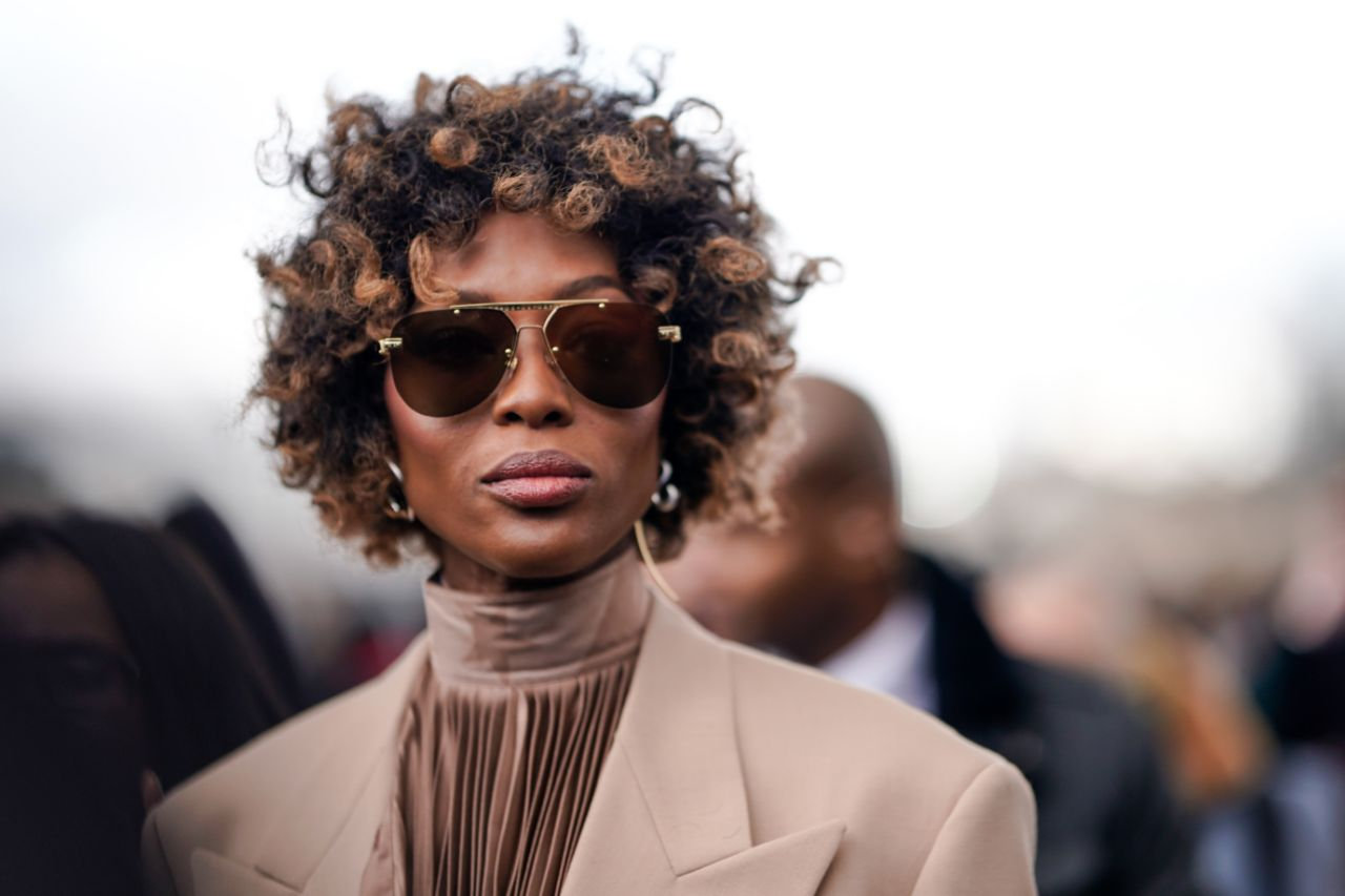 Naomi Campbell's Natural Curls Came Out to Slay!