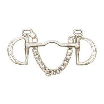 German Silver Loose Ring Hollow Mouth Snaffle