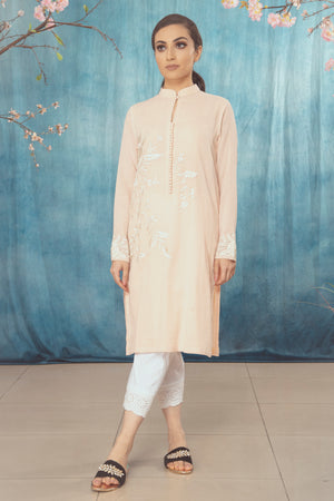Peach Kurta Suit