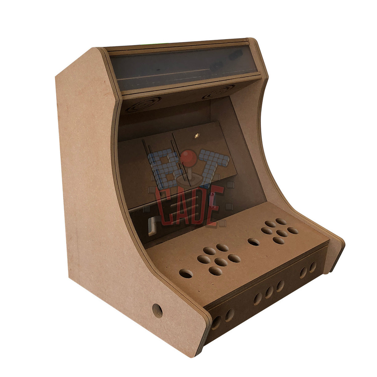 Bitcade - 2 Player Bartop Kit - With Stand