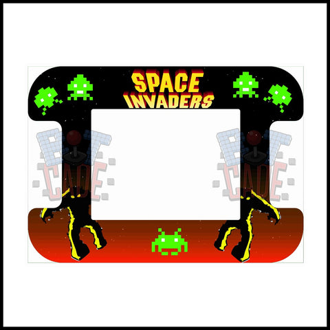 Space Invaders Artwork - Cocktail Table
