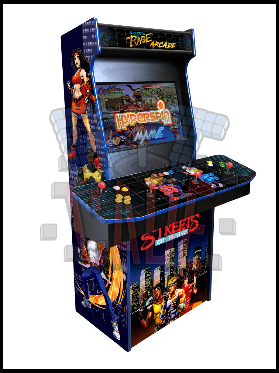Streets of rage - 4 Player 27 Inch Upright Arcade Cabinet