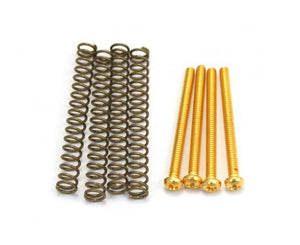 Allparts Pack of 4 Gold Humbucking Screws Humbucker Screws Allparts