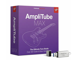 IK Multimedia AmpliTube MAX Music Software IK Multimedia