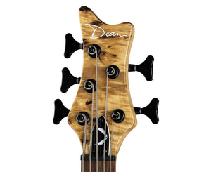Dean Edge Select 5-String Bass in Burled Poplar