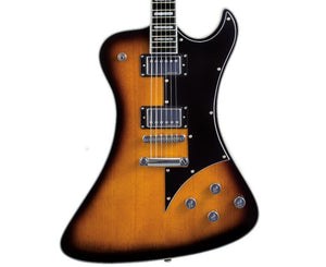 Hagstrom Fantomen Electric Guitar in Tobacco Sunburst Electric Hagstrom