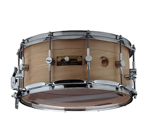 "Odery Snare Drum ""Air Control System"" 14 x 6.5"" in Maple/Nyatoh Natural Snare Drum Odery Drums"