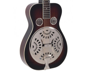 Recording King RR-60-VS Professional Wood Body Squareneck Resonator - Free Chrome Slide