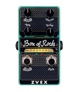 Zvex Vertical Box of Rock Distortion/Boost Pedal - Megatone Music