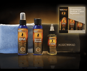 Music Nomad Premium Guitar Care System MN108 Polishes and Cleaners Music Nomad