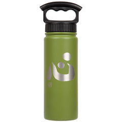"18oz/530mL ""Heart"" Shodo Bottle (Olive) 