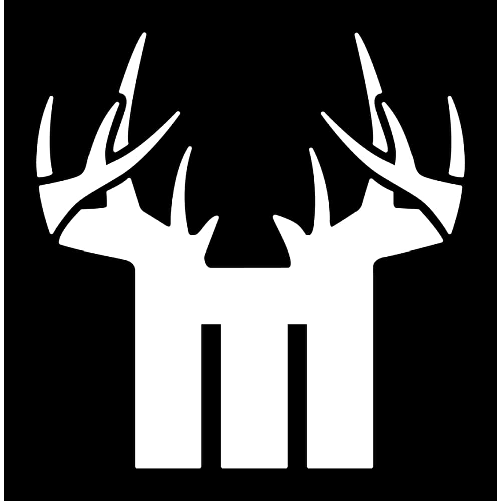 Bucks of Minnesota Decal - White - Bucks of America