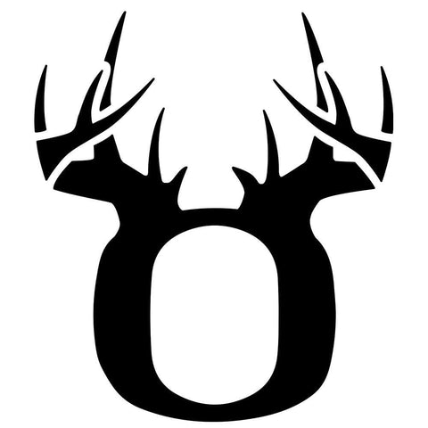 Bucks of Oregon Decal - Black - Bucks of America