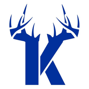 K Antler Decal - Blue - Decal