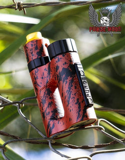The Side Piece 21700 Mech MOD by Purge Mods (Red/Black Splatter)