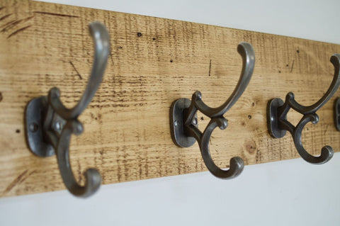 Antique Addison 4 Hook Coat / Hat Rack