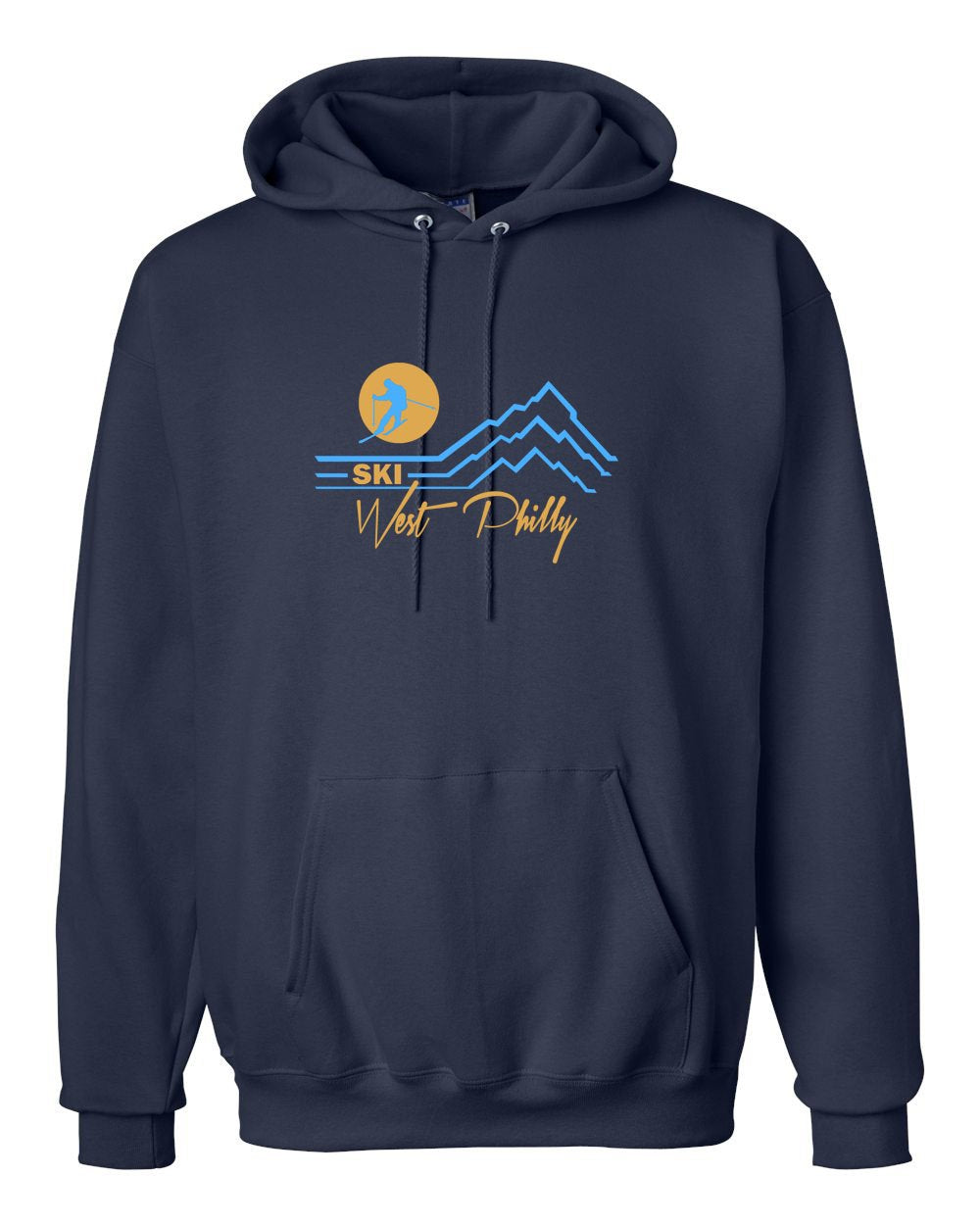 Ski West Philly Hoodie