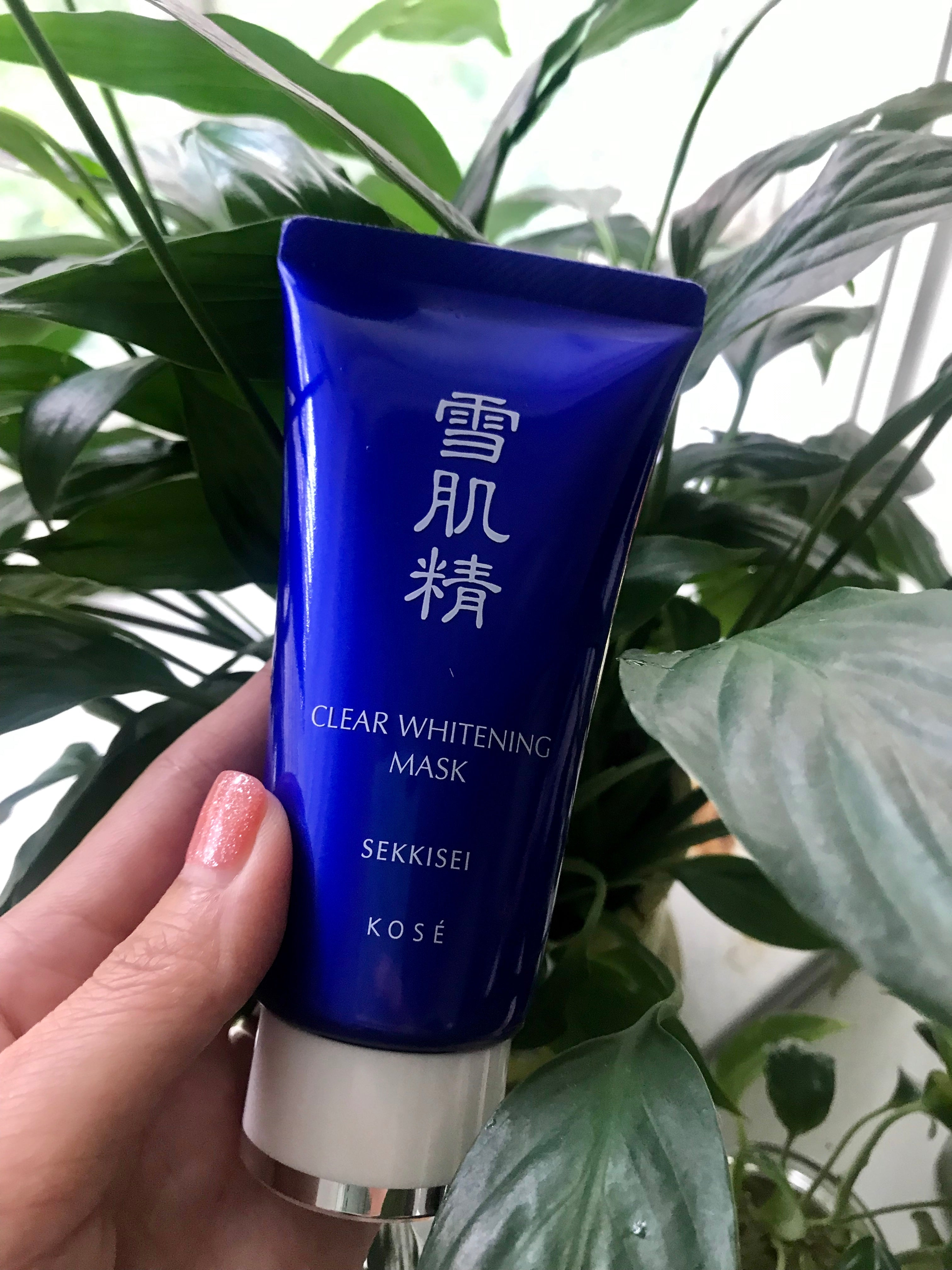 Kose Sekkisei Clear Whitening Mask. Remove blackheads, dead skin cells and remove fine lines. Made in Japan. Shipped from USA.